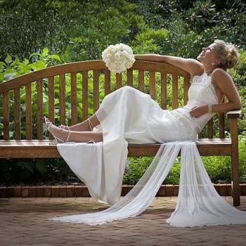 Bridal at Daniel Stowe Botanical Garden