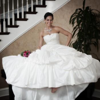 Bridal Portrait - Charlotte City Club
