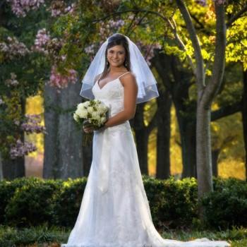 Bridal Portrait - Furman University