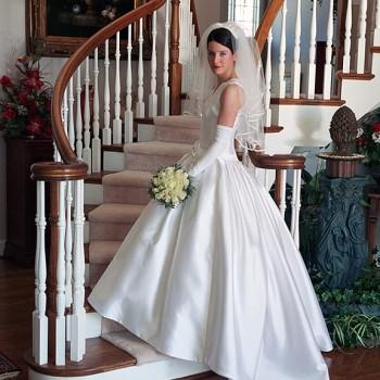 On-Location Bridal Portrait - Morehead Inn