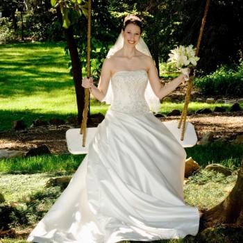 Bridal Portrait - Van Landingham Estate