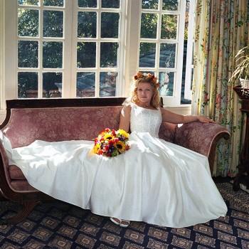 On-Location Bridal Portrait