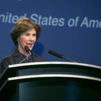 Laura Bush Speaking at ALFA Convention