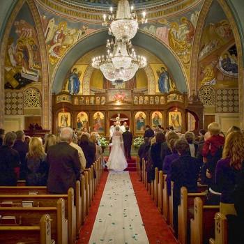 Ceremony at Holy Trinity Greek Orthodox Cathedral