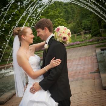 Wedding at Daniel Stowe Botanical Garden