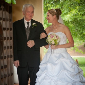 Bride and Her Father At DSBG
