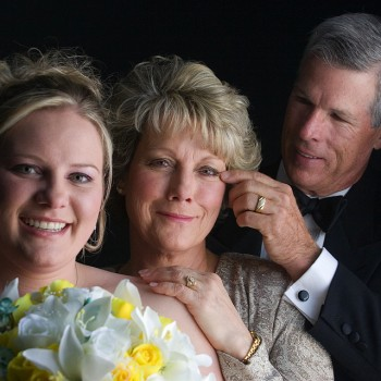 Bride and her Parents - Charlotte