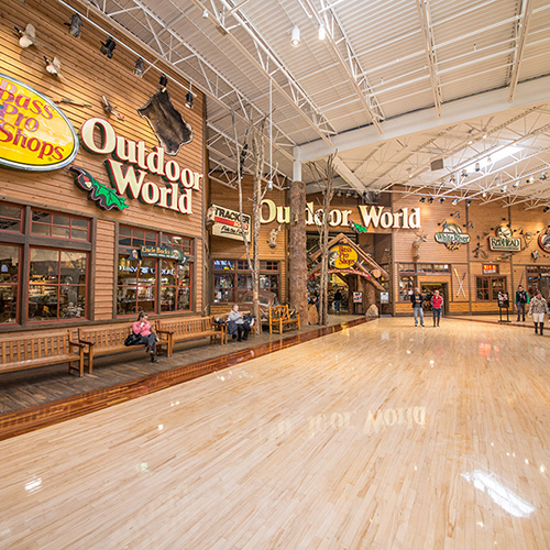 Mall Interior - Concord Mills