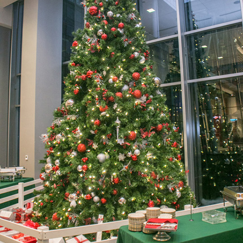 Christmas Party – Founder's Hall – Charlotte NC
